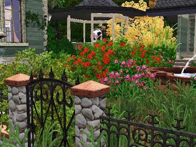 wild garden weeds sims 3