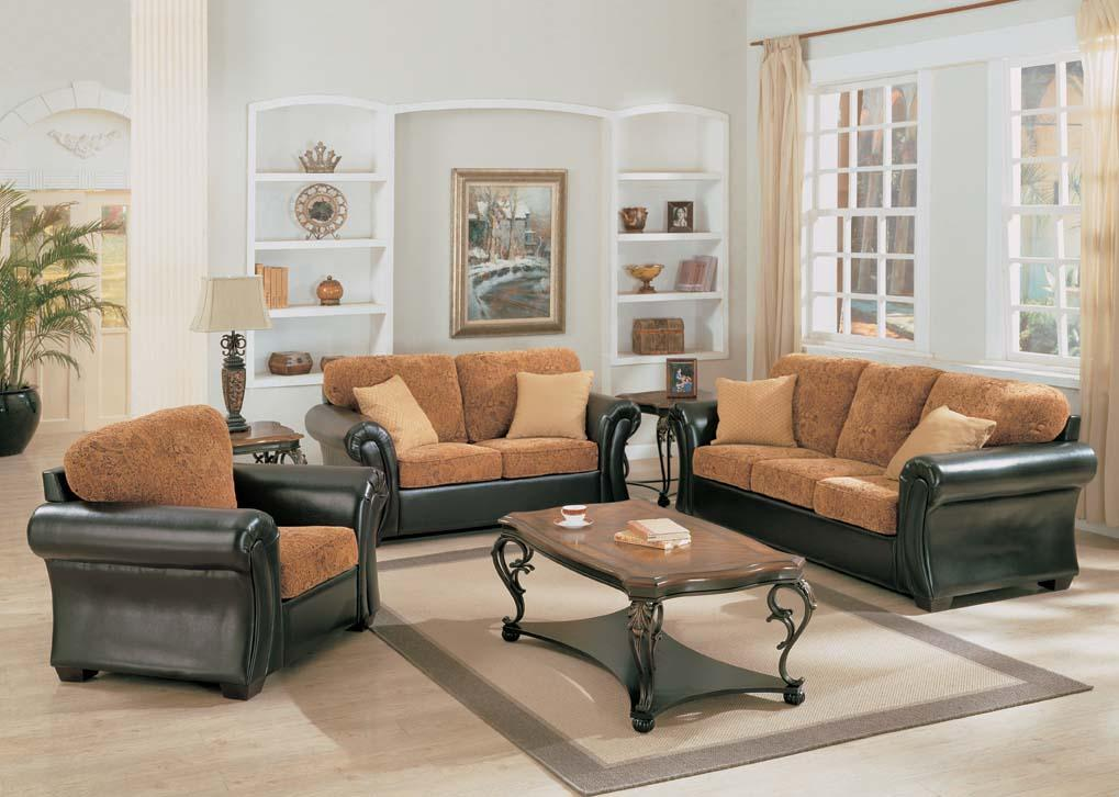 Living room fabric sofa sets designs 2011 home decorating for Living room 4 chairs