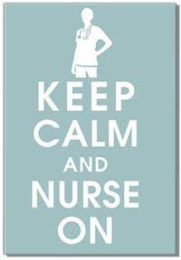 Mantén la calma y haz Enfermería.