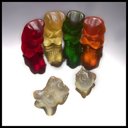 Funny Gummy Bears Jelly Wallpaper