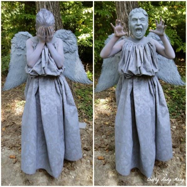 Costume Diy Weeping Angel Part 2