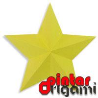 Cara Membuat Origami Bintang