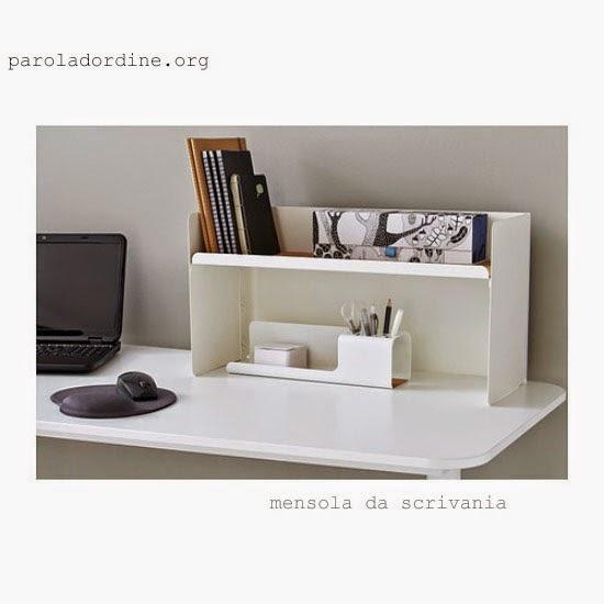 paroladordine-da avere-studio-mensola da scrivania