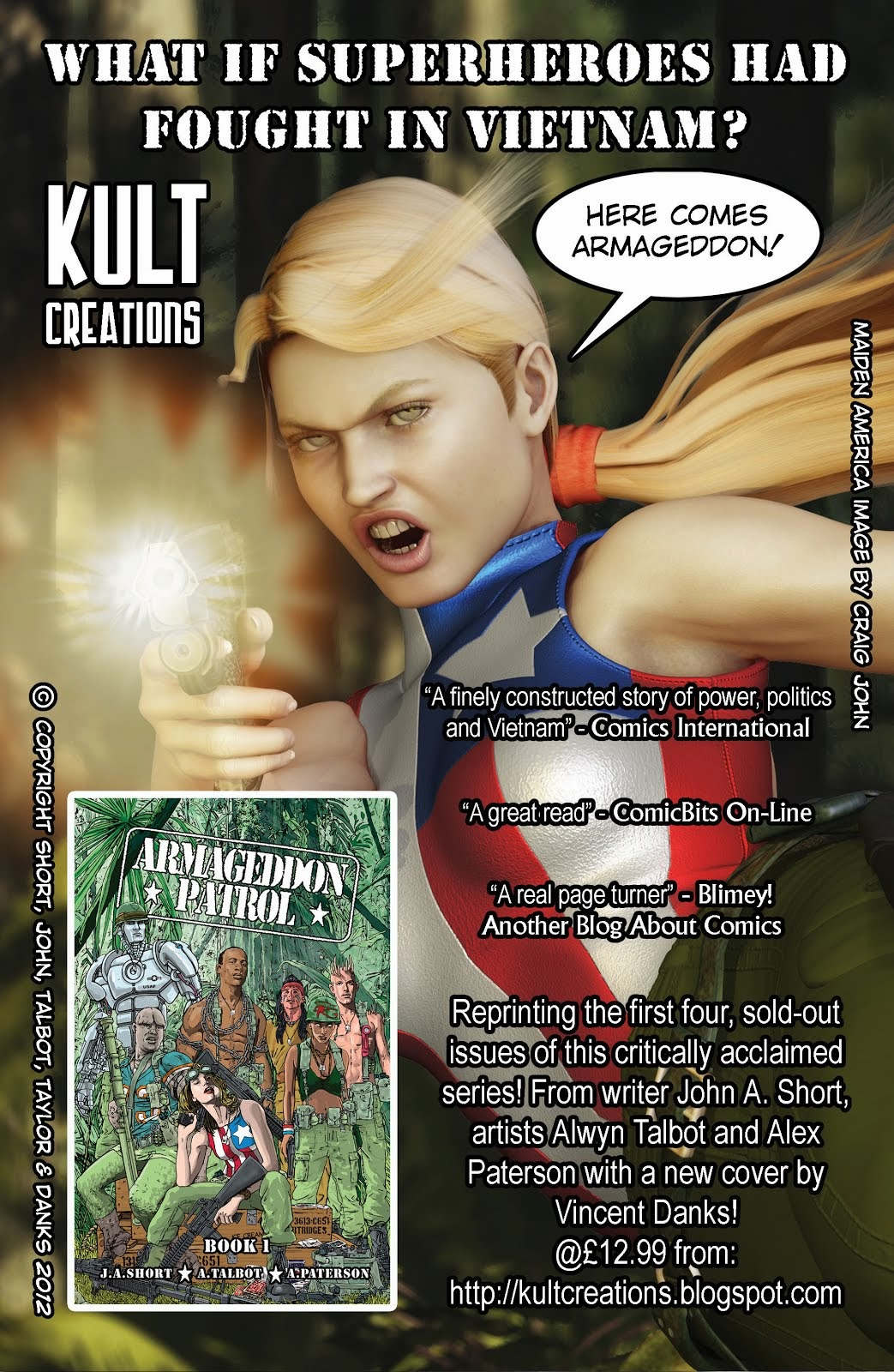 ARMAGEDDON PATROL comic