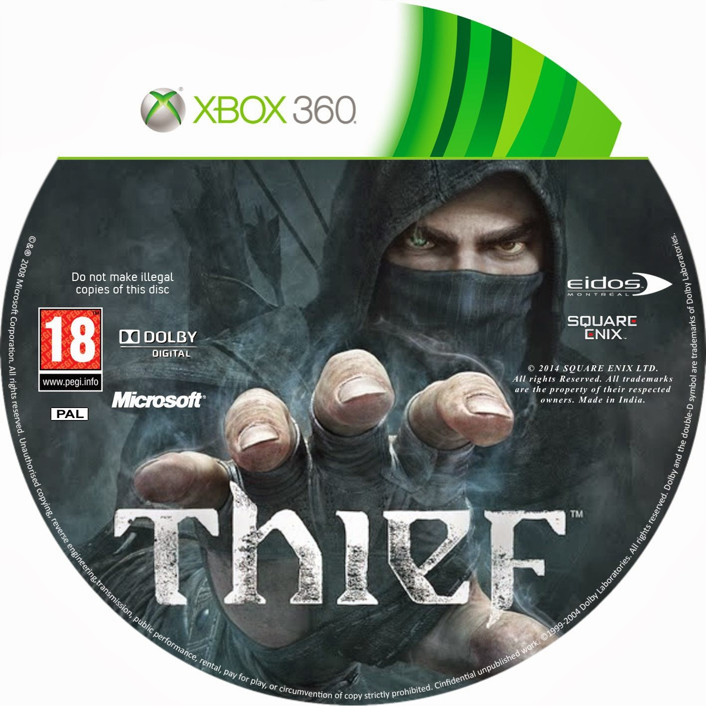 Label Thief Xbox 360