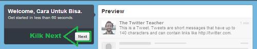 Cara Mendaftar Twitter Langkah 3