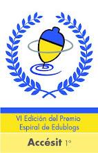 SOMOS PREMIADOS EN ESPIRAL EDUBLOGS 2012