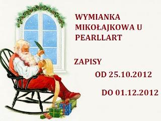 Wymianka Mikołajkowa  do  01.12.2012
