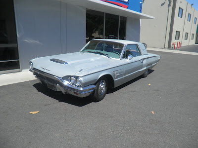 Faded 1965 Thunderbird before restoration at Almost Everything