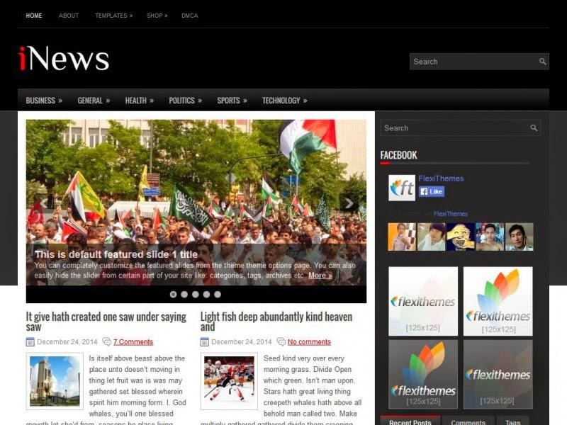 iNews - Free Wordpress Theme