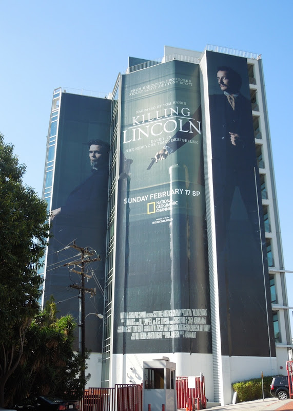 Giant Killing Lincoln movie billboard Sunset Strip