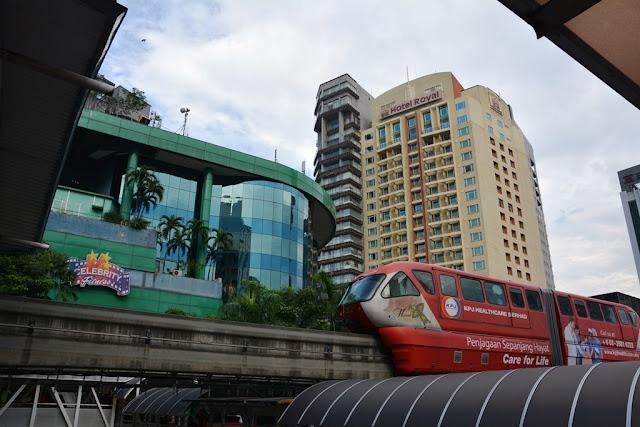 KL Metro futuristic
