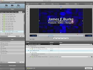 The video encoding interface in Sorenson Squeeze software.
