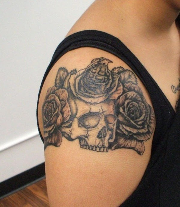33 Most Amazing Cool Shoulder Tattoo Designs For Girls