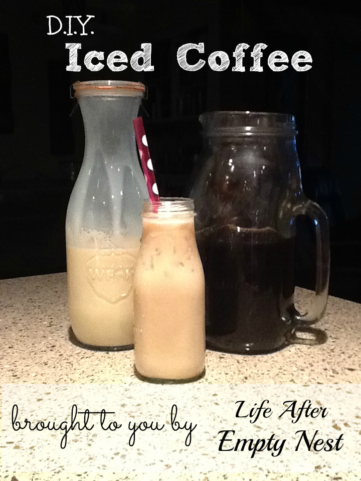 Cold Brewed Iced Coffee brought to you by Life After Empty Nest. Best ...