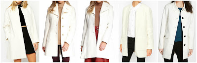 ASOS Collection Coat in Trapeze With Dipped Hem $68.00 (regular $135.00)  Jessica Simpson Boucle Notch Collar Wool Blend Coat $84.97 (regular $310.00)  Jessica Simpson Basketweave Coat $89.97 (regular $325.00)  By Zoe Beno Coat in Brushed Wool Mix $180.00 (regular $419.00)  Vince Camuto Single Breasted Ponte Knit Coat $189.90 (regular $300.00)