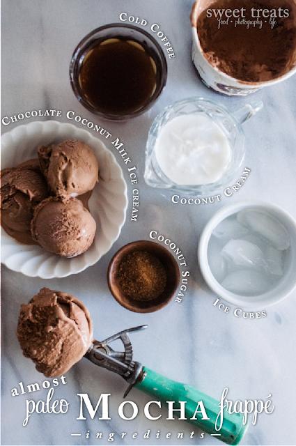 Almost Paleo Mocha Frappe Ingredients