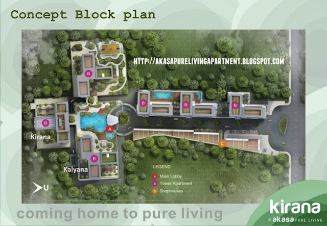 Block Plan Akasa Pure Living