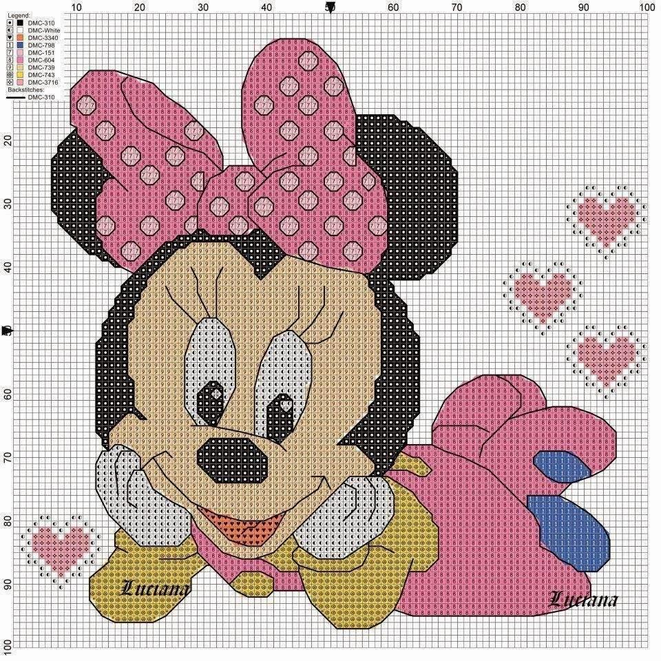 Punto Croce Per I Bambini La Mia Passione Schemi Disney A Punto Croce