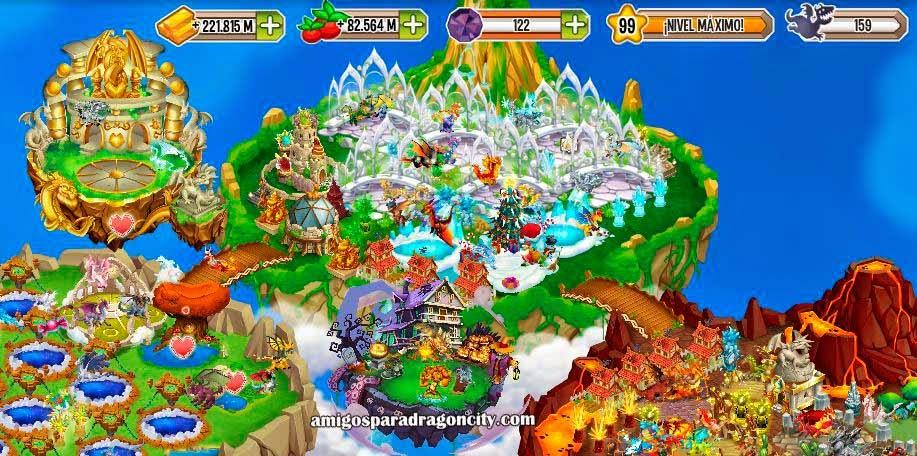 imagen de la isla de halloween de dragon city