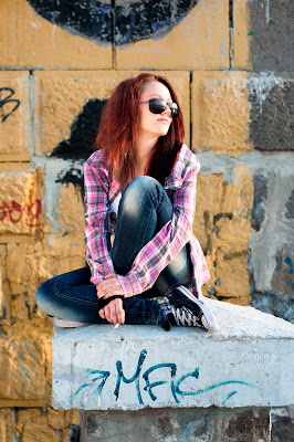 Outdoor portraiture, all rights reserved by the photographer!