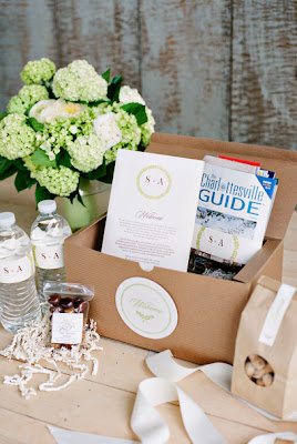 Kendall Poole Event Planning Customized Wedding Welcome Bags