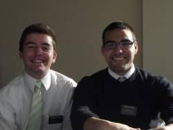 Elder Garcia and Elder Oliverson January 2012- May 2012