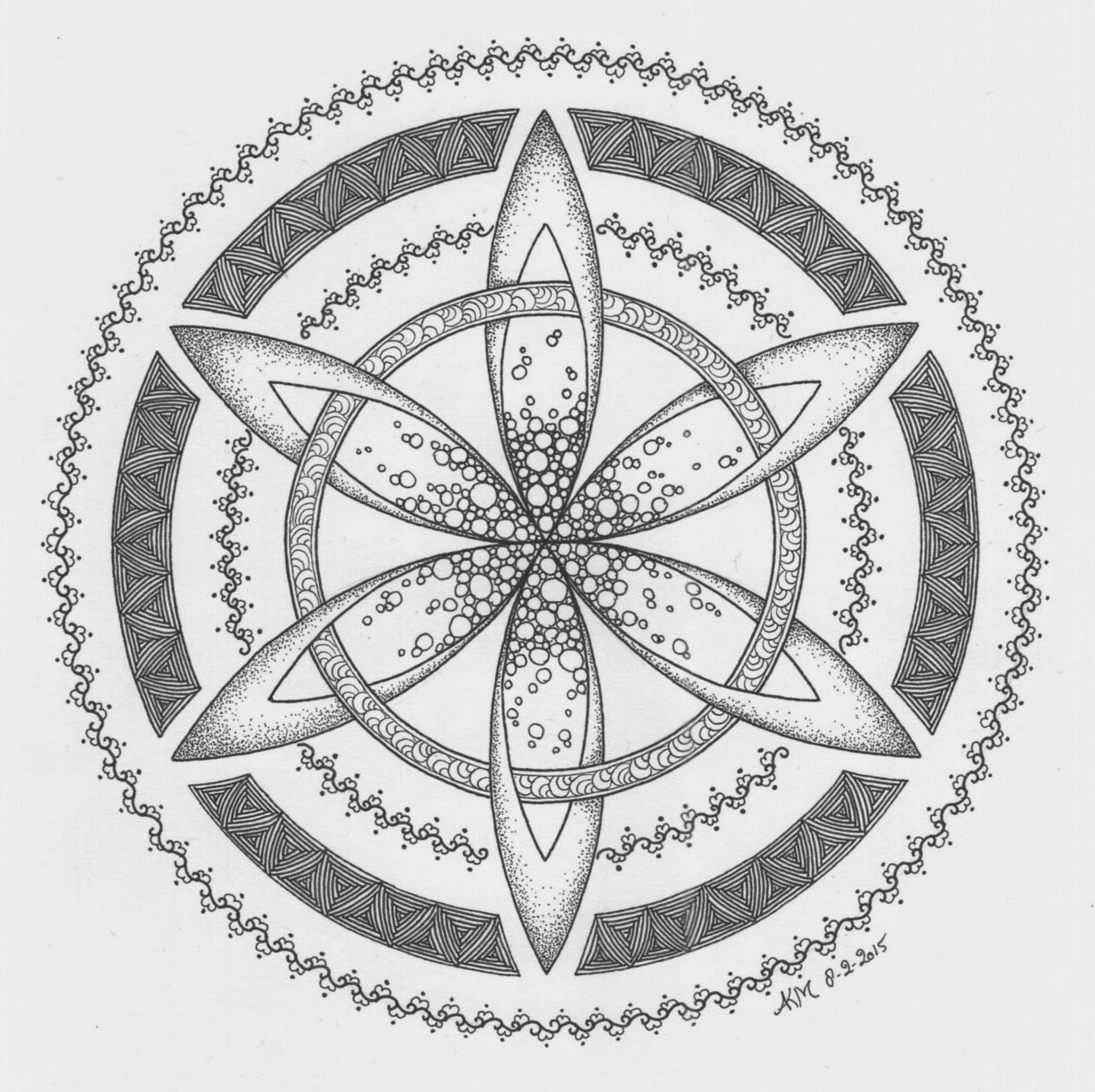 mandala atelier  zendala  tangle