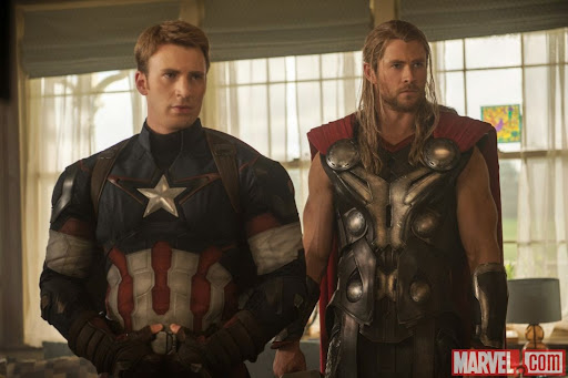 Captain America & Thor Avengers: Age Of Ultron
