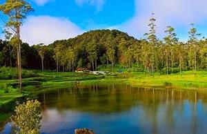 Situ Cileunca Taman Wisata Indah dengan Tarif Murah