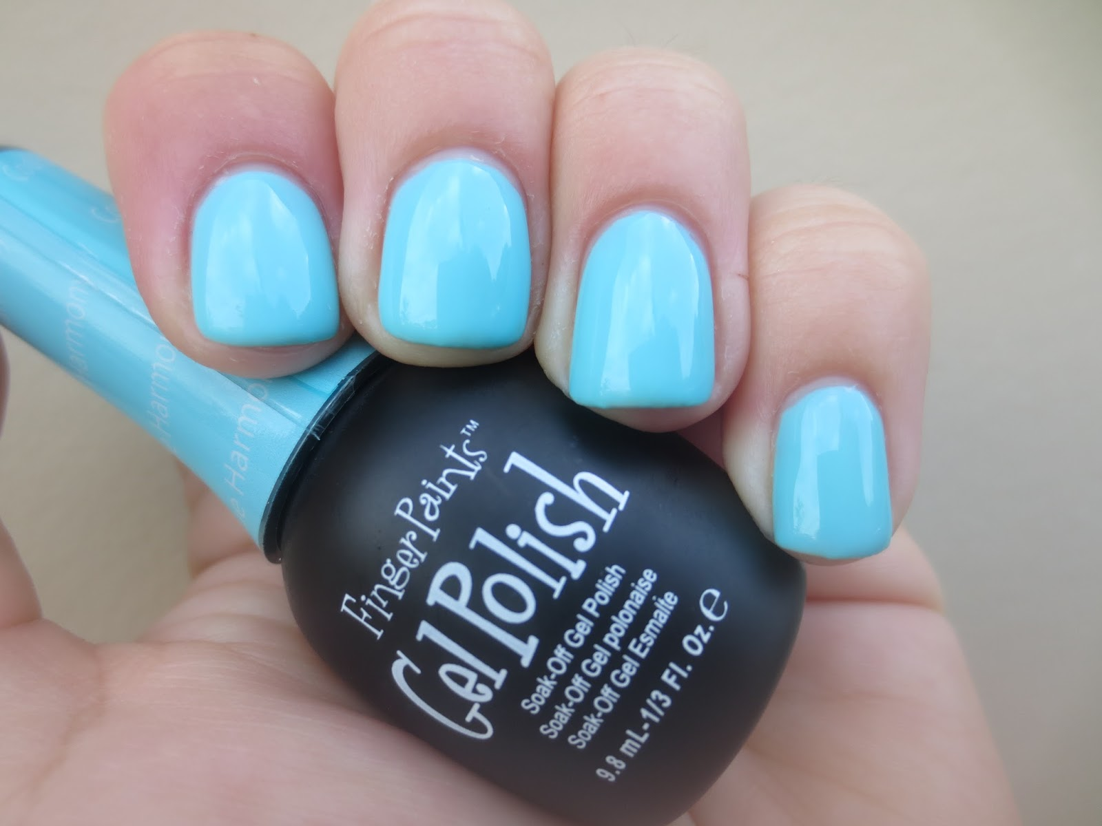 Polish & Puppies: SOG: FingerPaints Gel Polish Cool Blue Harmony