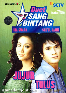 cover album, duet sang bintang, sinetron sctv, lagu sinetron, ira swara, saiful jamil, jujur radja