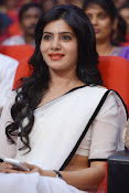 Samantha sizzling in white saree-thumbnail-15