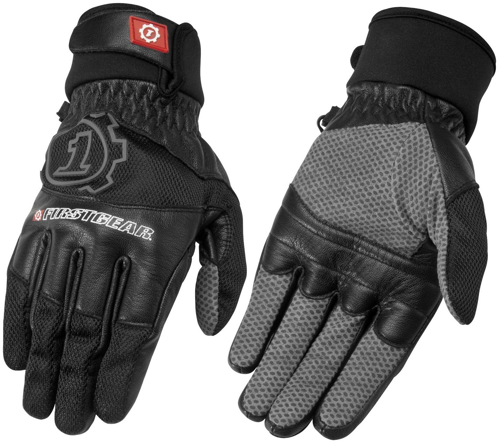 Icon justice leather motorcycle gloves - Motorcycle Jackets Helmets And Gear Reviews