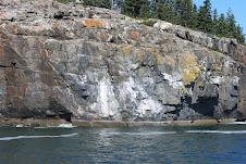 Schooner cliffs. See the sails?