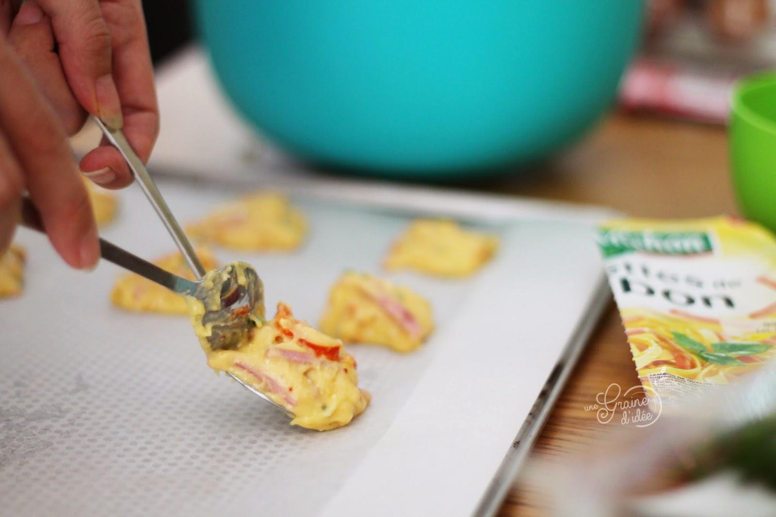 Cookies sal s allumettes de jambon parmesan piment d 39 espelette et tomates s ch es une - Graine de piment d espelette ...