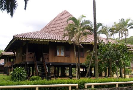 Download this Rumah Melaka Bumbungan Lima Indonesia picture
