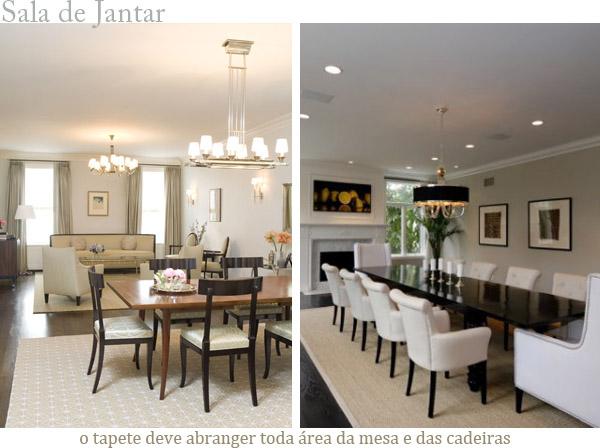 Sala De Jantar Tem Que Ter Tapete ~ Blog Estilo & Décor Post sob encomenda  Cortinas x Tapetes