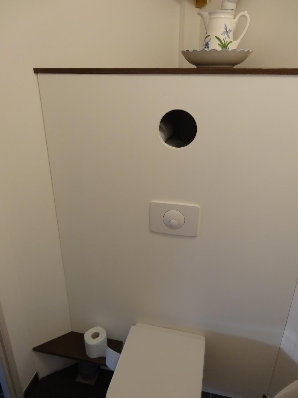 Blog de Vincent Demaret Réalisation dun habillage de WC suspendu