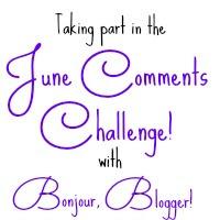 Bonjour Blogger Comments Challenge