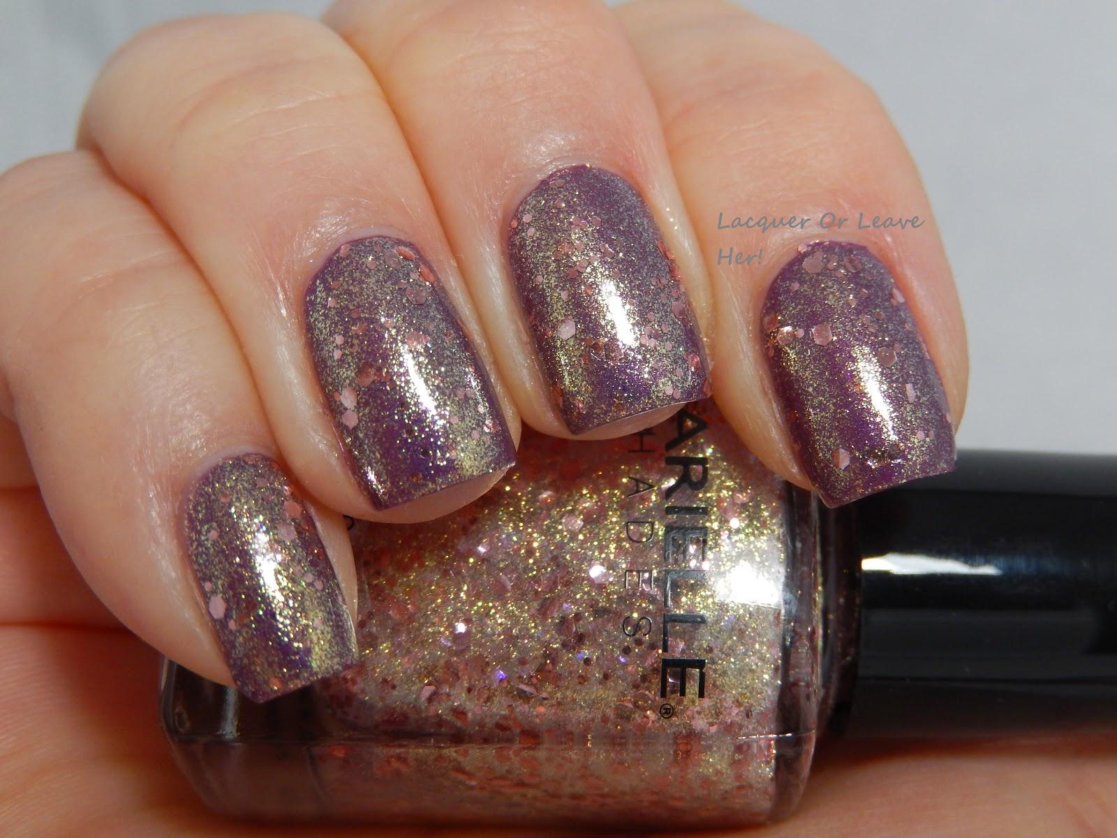 Barielle Golden Halo over Finger Paints Magenta Mural