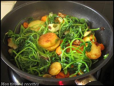 cuisiner fanes de radis