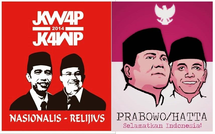 capres dan cawapres indonesia 2014