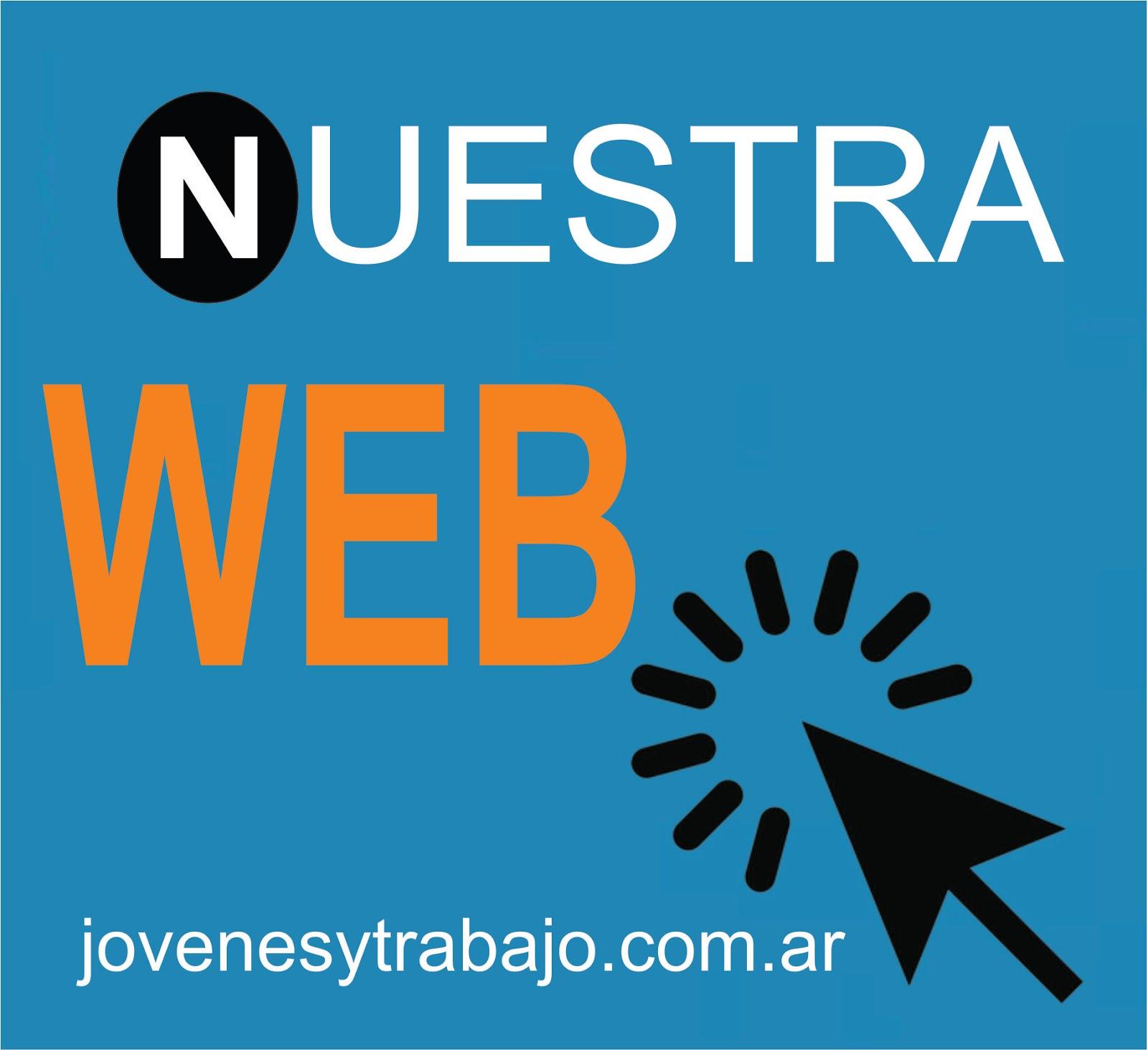 """Entrar a """"jovenesytrabajo.com.ar"""""""