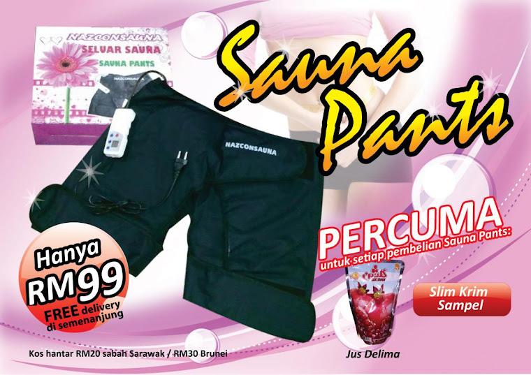 SAUNA PANTS RM99