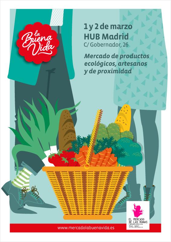 Mercado la Buena Vida Marzo