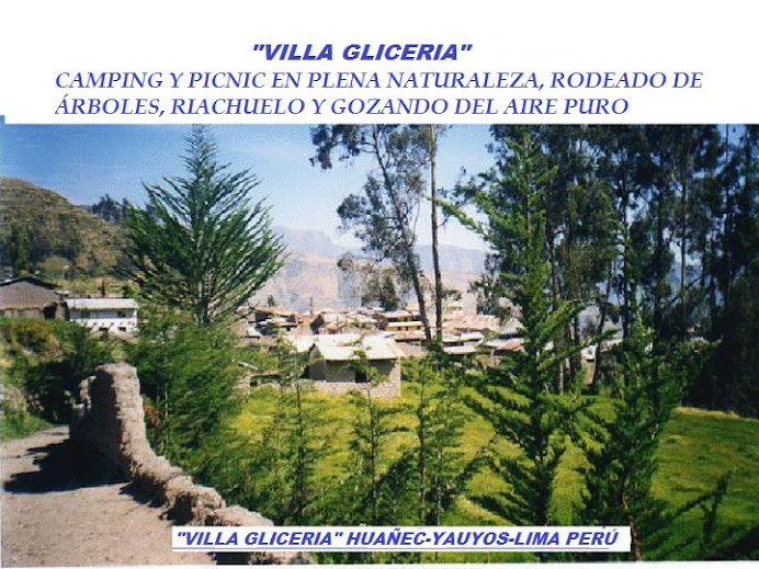 TURISMO RURAL EN LA CIUDAD HISTÓRICA DE HUAÑEC-YAUYOS-LIMA-PERÚ