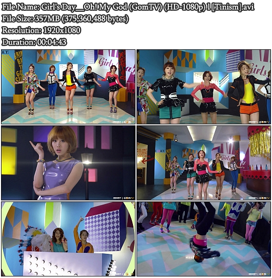 MV Girl&#39;s Day - Oh! My God (GomTV Full HD 1080p)