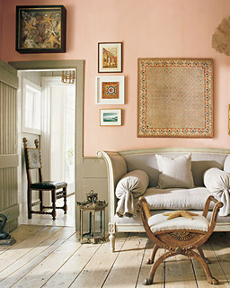 Imbiancare casa idee: Imbiancare colori: labbinamento grigio e rosa ...