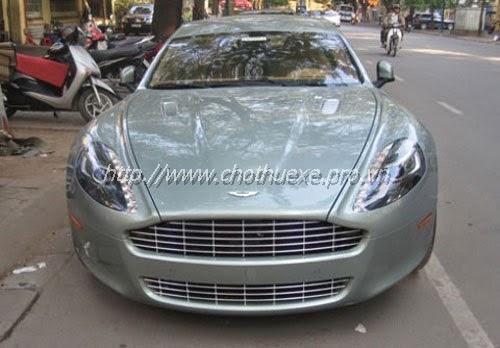 Cho thuê xe Aston Martin Rapide